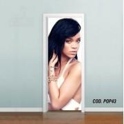 Adesivo De Porta Rihanna mod05