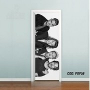 Adesivo De Porta One Direction 1D mod02