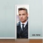 Adesivo De Porta One Direction Liam mod03