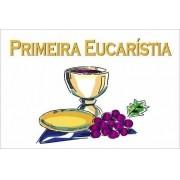 Painel Lona Primeira Eucaristia Comunhão mod01