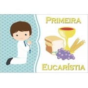 Painel Lona Primeira Eucaristia Comunhão mod03