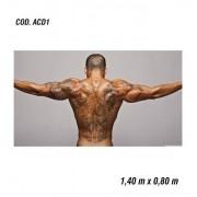 Adesivo De Parede Academia Fitness Musculação mod01