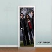 Adesivo De Porta The Vampire Diaries mod02