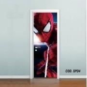 Adesivo De Porta Homem Aranha Spider Man mod04