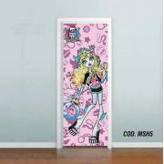 Adesivo De Porta Monster High mod05