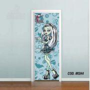 Adesivo De Porta Monster High mod04