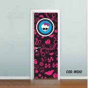 Adesivo De Porta Monster High mod02