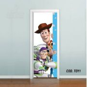 Adesivo De Porta Toy Story mod01