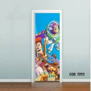 Adesivo De Porta Toy Story mod03