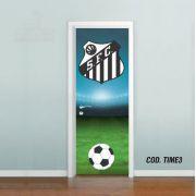 Adesivo De Porta Futebol Santos