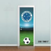 Adesivo De Porta Futebol Cruzeiro
