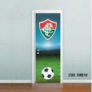 Adesivo De Porta Futebol Fluminense