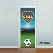 Adesivo De Porta Futebol Boca Juniors