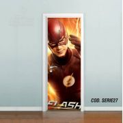 Adesivo De Porta The Flash Barry Allen #01