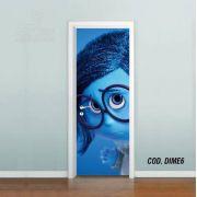 Adesivo De Porta Disney DivertidaMente mod06
