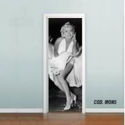 Adesivo De Porta Cinema Marilyn Monroe mod05