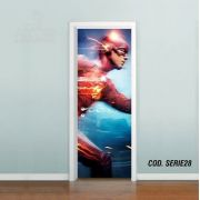 Adesivo De Porta The Flash Barry Allen mod02