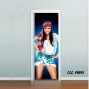 Adesivo De Porta Funk Anitta #04