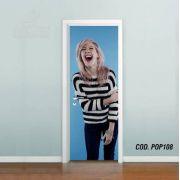 Adesivo De Porta Ellie Goulding mod05
