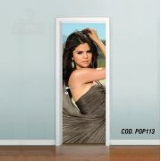 Adesivo De Porta Selena Marie Gomez mod05
