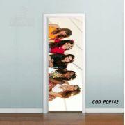 Adesivo De Porta Fifth Harmony mod01
