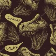 Papel De Parede Adesivo Dinossauros mod03