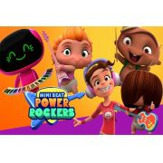 Painel Lona Mini Beat Power Rockers mod02
