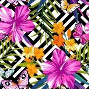 Papel De Parede Adesivo Flores Floral mod10