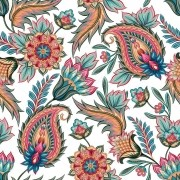 Papel De Parede Adesivo Flores Floral mod11