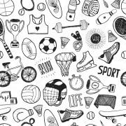 Papel De Parede Adesivo Futebol Esporte mod02