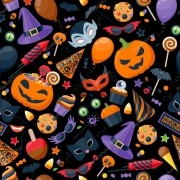 Papel De Parede Adesivo Halloween
