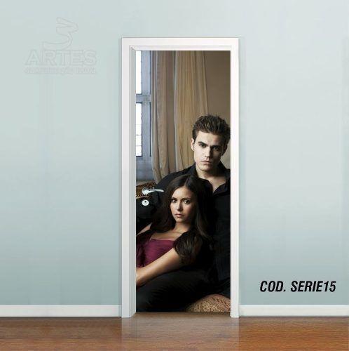 Adesivo De Porta The Vampire Diaries mod05