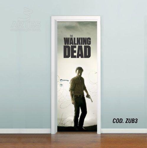 Adesivo De Porta The Walking Dead #03