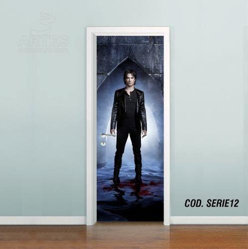Adesivo De Porta The Vampire Diaries mod03