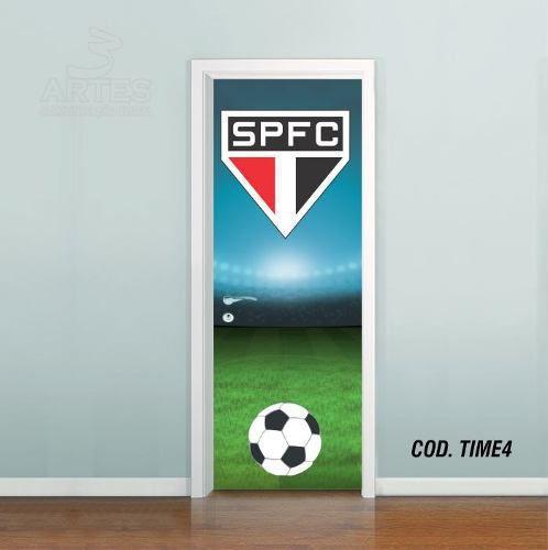 Adesivo De Porta Futebol São Paulo