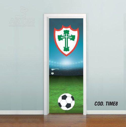 Adesivo De Porta Futebol Portuguesa