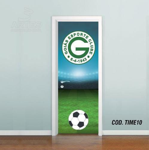 Adesivo De Porta Futebol Goiás