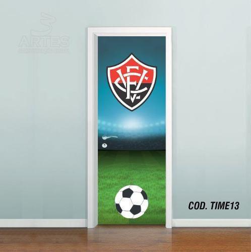 Adesivo De Porta Futebol Vitória