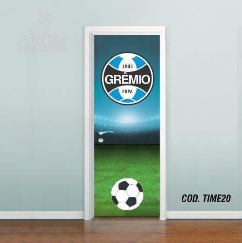 Adesivo De Porta Futebol Grêmio