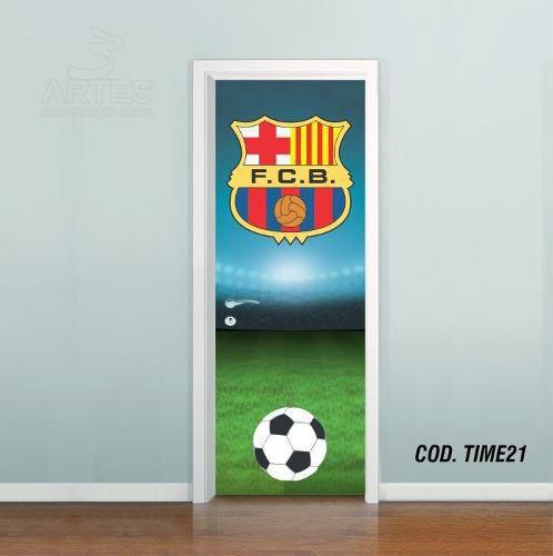 Adesivo De Porta Futebol Barcelona