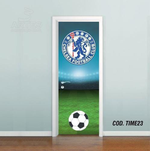 Adesivo De Porta Futebol Chelsea
