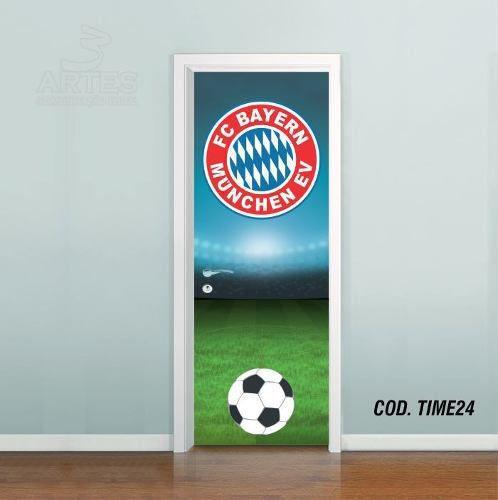 Adesivo De Porta Futebol Bayern Munich
