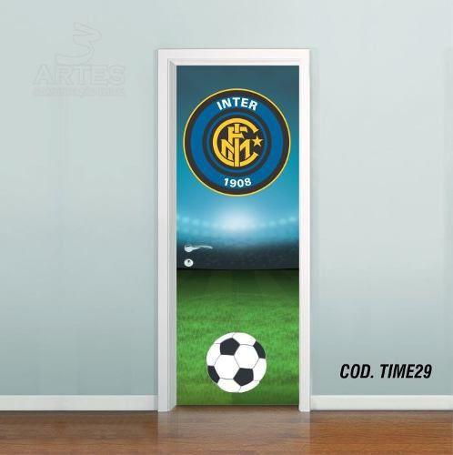 Adesivo De Porta Futebol Inter De Milão
