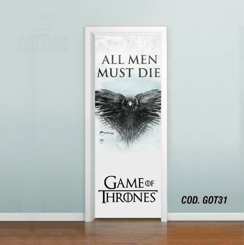 Adesivo De Porta Game Of Thrones #03