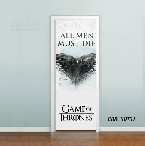 Adesivo De Porta Game Of Thrones mod03