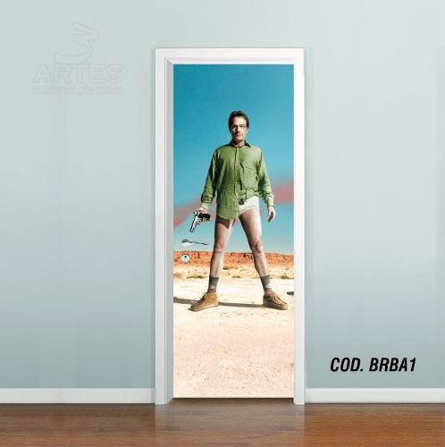 Adesivo De Porta Breaking Bad mod01