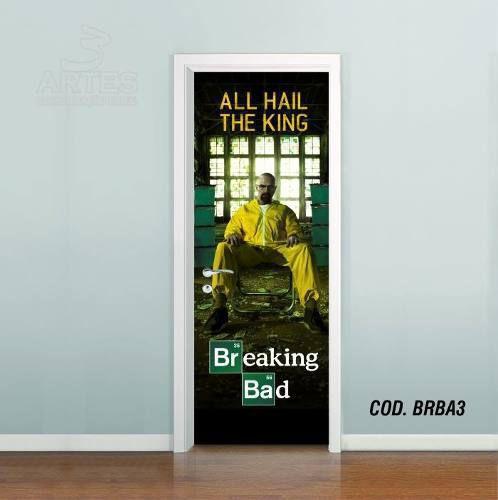 Adesivo De Porta Breaking Bad mod03
