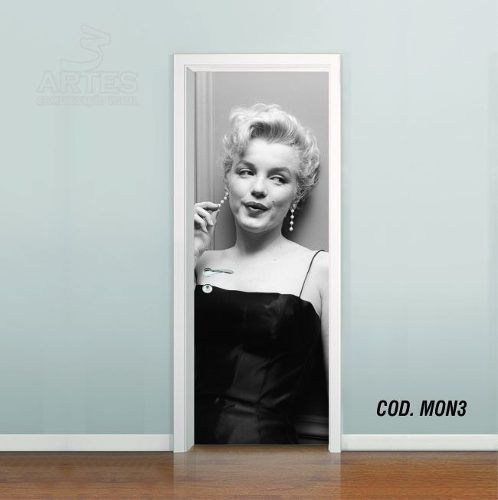 Adesivo De Porta Cinema Marilyn Monroe #03
