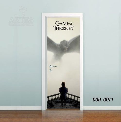 Adesivo De Porta Game Of Thrones mod01