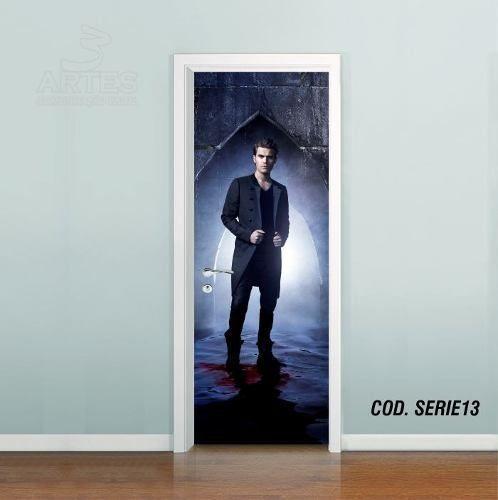 Adesivo De Porta The Vampire Diaries mod01